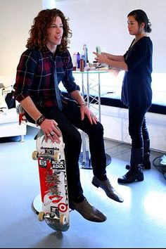 Yes, Shaun White is on my bucket list of things to do.