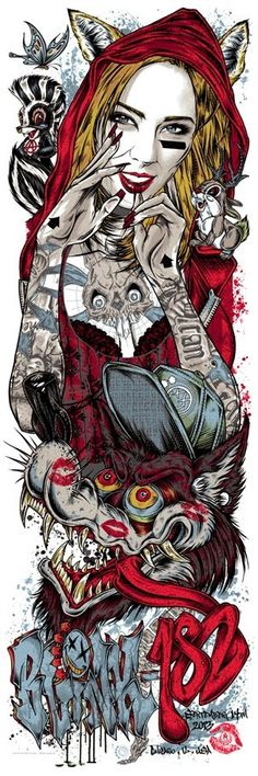 Cool Art: 'Blink 182' By Rhys Cooper