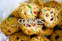 What I'm happy for» Cookies
