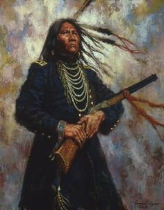 James Ayer's paintings of Native American history are not just the results of a simple act with the stroke of a brush. A lot of time and att...