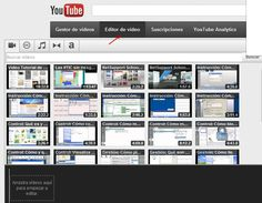 Editor de vídeo - YouTube