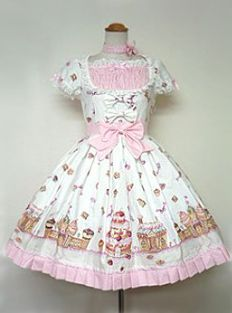 Angelic Pretty » One Piece » Country of Sweets OP