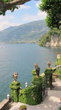 View from Villa del Balbianello on the western shores of Lake Como.