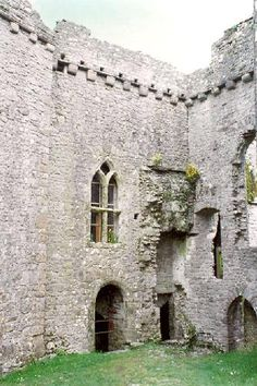 Weobley Castle.  Awesome site with info & pics of Welsh castles & ruins.  Very informative.