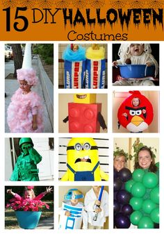 Need some fun ideas this year? Here are 15 DIY Kids Halloween Costumes that you can make at home.