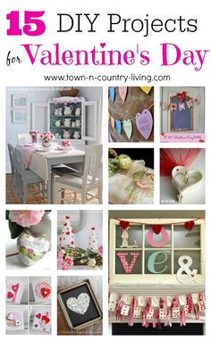 15 Simple Valentine's Day Projects