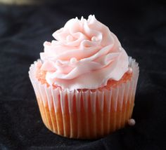 Super Simple Strawberry Buttercream Frosting - with all butter,never shortening