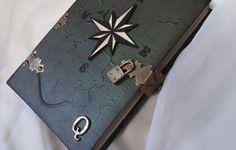 Rosa dos Ventos - Wind Rose Display no caderno medieval