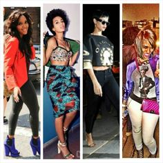 Angela Simmons, Solange Knowles, Rihanna, U0026 Mikale Ferguson...  Ilovetheirstyle