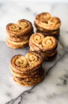 Spiced Orange Palmiers