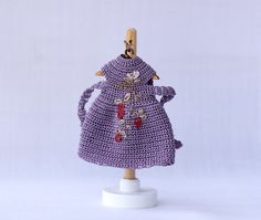 Hey, I found this really awesome Etsy listing at https://www.etsy.com/listing/473696357/4-inches-doll-miniature-crocheted-violet