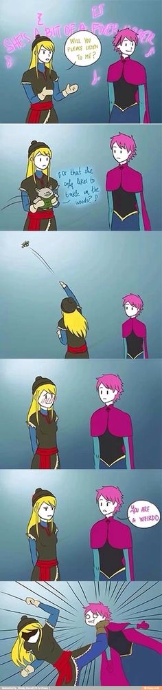 Why are these Fairy Tail/Frozen crossovers so awesome?