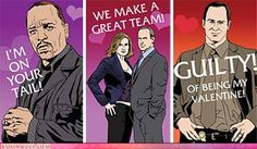 Law & Order: SVU Valentines. This is hysterical.