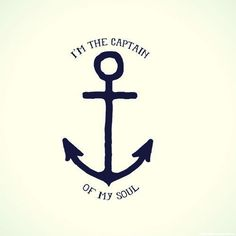 Be your own captain