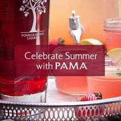 PAMA Liqueur Celebrate Summer Contest - Enter NOW to win $500 or $250 gift cards and party kits from PAMA! Celebrate Summer in style! #sponsored #PAMACelebrateSummer