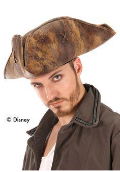 Men s Captain Jack Sparrow Pirate Hat Costume Hats d0c31ec7e194
