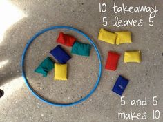 Friends of Ten, 10 Facts, Subtraction and Addition Early Years Maths Activity.