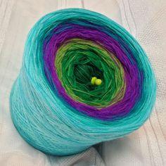 Nr. 199: Hochbausch: 8 Farben Mix: dunkelgrün grasgrün froschgrün violett lila petrol oceangrün aqua