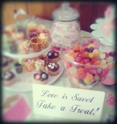 My daughters Sweet Candy Buffet for her birthday party