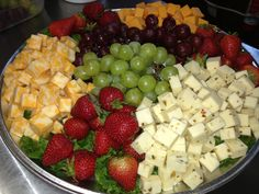 cheese and fruit platter ideas for weddings | Kitchen Sisters Catering