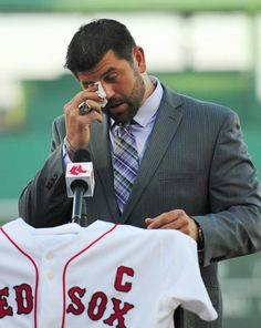 one of the greatest men to have ever worn a red sox uniform.. jason varitek