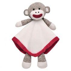 Sock Monkey Snuggle Buddy