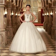 Princess Wedding Dresses   Princess style wedding dresses became popular in this year