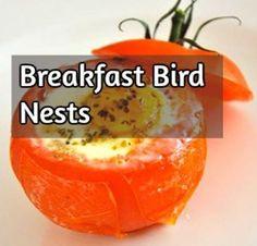 Breakfast Bird Nests