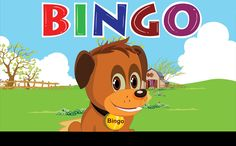 Bingo Dog Song - Nursery Rhyme With Lyrics | Cartoon Animation for Children