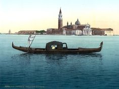 A view of theSan Giorgio Maggiore - one of the islands of Venice that lies south of the m...