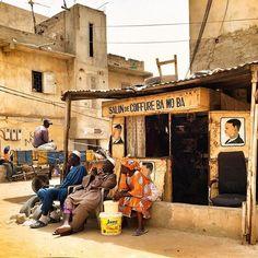 A beauty parlor - Dakar, Senegal