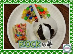 VERY cool lesson on how the 3 different types of rocks are formed! I wish I could pin the You Tube video with the chef demonstrating. Via: 2nd Grade Shenanigans: The ROCK Buffet
