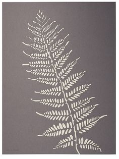 Fern Laser Cut Artwork: to appreciate the origins of our being #LEIFgiftygiveaway