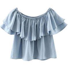 Chicnova Fashion Off Shoulder Layered Crop T-shirt Comprar Roupas, Roupas  Boho, Roupas 5e056e77e9