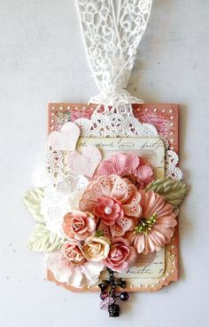 From Prima.....love all the flowers and ribbon!