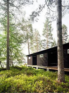 summer house in Dalnarna, Sweden, designed by architect Maria Masgård