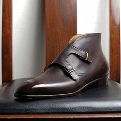 Perfect monkstrap boot