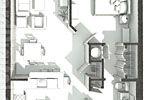 Home Renderings PCI Dorm Floor Plans Rendering 1