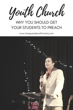 Youth Church: Why You Should Get Your Students to Preach Youth Group Games, Pastors Wife, Bible Study Tools, Seasons Of Life, Youth Ministry, How To Start Running, Work From Home Moms, Leadership, You Got This