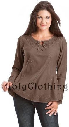 Shop Tesha Empire Waist Gypsy Embroidered Boho Top Shirt Blouse in Brown Chocolate :http://holyclothing.com/index.php/tesha-empire-waist-gypsy-embroidered-boho-top-shirt-blouse.html. Repins are always appreciated :) #HolyClothing #fashion #EmpireWaist #Gypsy #Embroidered #Boho #Top #Shirt #Blouse