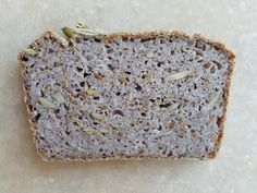 This fermented buckwheat bread is astonishing in its simplicity and its tasty, complex flavors. It makes for a great pre-workout breakfast or snack as it& packed with nutrients yet it feels light on the digestive system compared to a granola bar. Gluten Free Recipes For Kids, Gluten Free Vegetarian Recipes, Savoury Recipes, Buckwheat Bread, Vegan Bread, Buckwheat Recipes, Chocolate Chip Cookie Mix, Chocolate Chip Oatmeal, Butternut Squash Bread