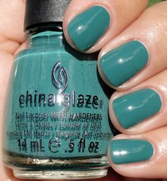 ChG Exotic Encounters (KellieGonzo: China Glaze On Safari Collection Fall 2012)