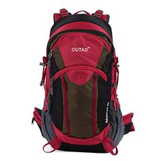 OUTAD 38L10gal Hiking Backpack Camping Backpacking Hiking Day Pack >>> Find out more about the great product at the image link.