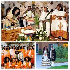 ❤️More Melse/Melsi pics!!photos courtesy of Ethiopian Traditional Dresses #melse #melsi #zuria #kemis #bridesmaids #bride #groom #habeshabrides