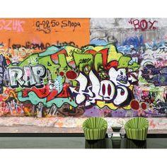 Graffiti óriás fotó-poszter-tapéta