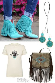 Junk Gypsy spitfire turquoise boots as seen on @horsesandheels