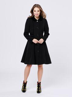 Gracen Coat | Black | Coat