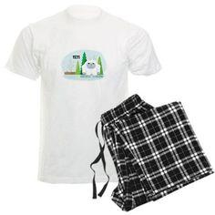 Cute Cartoon Yeti Pajamas on CafePress.com