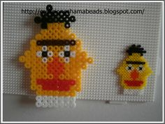 Sesame Street hama midi and mini beads by Laura