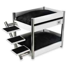 Cutest Dog Bed Ever! Bunk beds for the girls!
